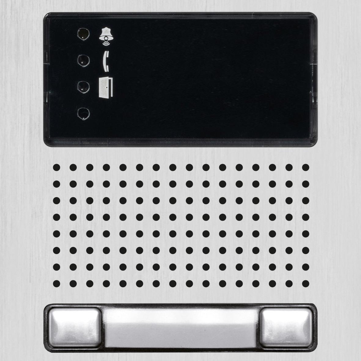 IP-Modul Audio mit zwei Taster
