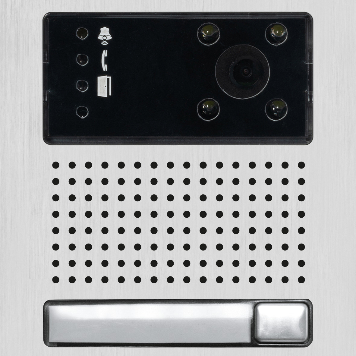IP-Modul mit Kamera und einem Taster