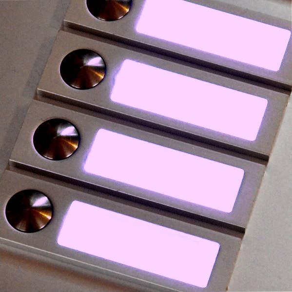 LED Rot Namenschildbeleuchtung